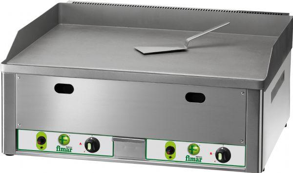 Fry top da banco a gas piastra doppia liscia fimar fry - Piastra in acciaio inox per cucinare ...