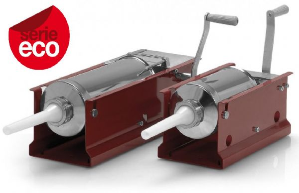 Insaccatrice manuale orizzontale inox capacit� 3 lt. serie ECO