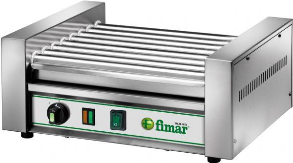 Macchina per riscaldare e cuocere wurstel e salsicce 8 rulli 14 hot dog - Robot per cucinare e cuocere ...