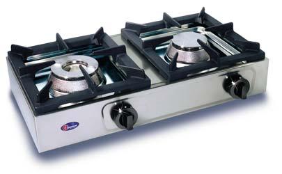 Cucina semiprofessionale a 2 fornelli orizzontali da 6 5 6 - Fornelli cucina ...