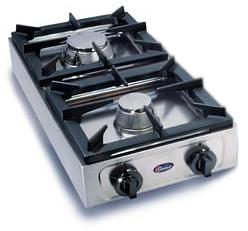 cod big7002f1 par cucina semiprofessionale a 2 fornelli